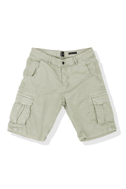 Cargo shorts in twill