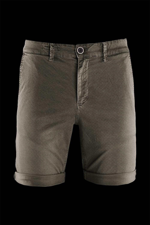 Chino shorts microprinted