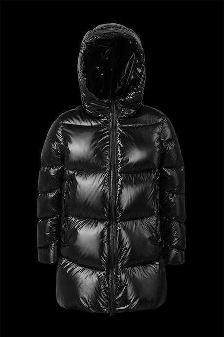 f8df720dfbd2 jackets Kid Laqué Down Jacket With Hood - Bomboogie