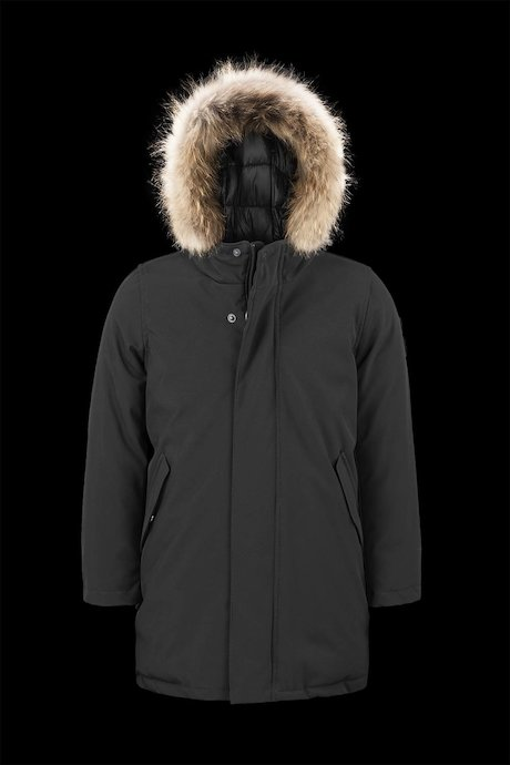 Parka softshell fourrure