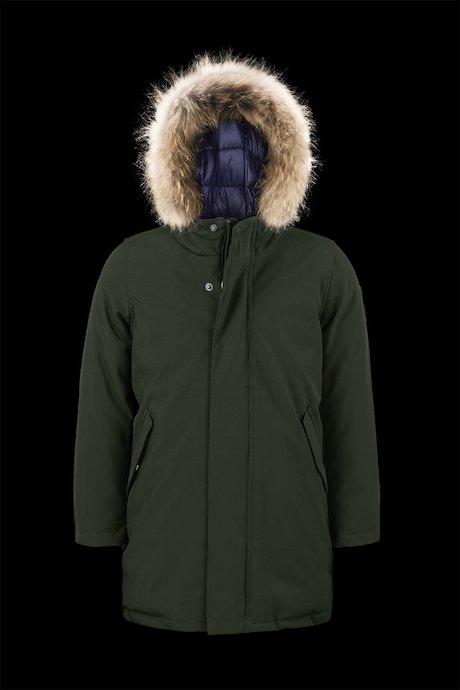 Softshell Parka Softshell Fur Inserts