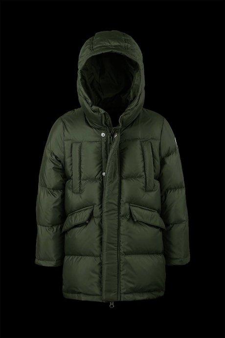a694e3adbd38 jackets Kid Medium Shiny Down Jacket With Hood - Bomboogie