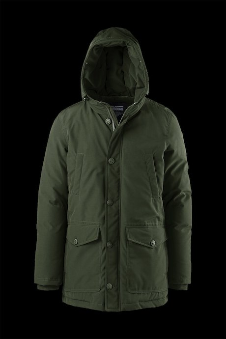 Padded Multi Pocket Parka
