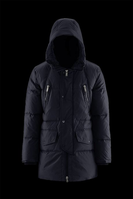 Multi Pocket Padded Coat Medium Shiny