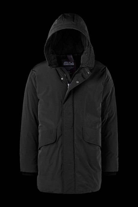 Padded Coat with Hood