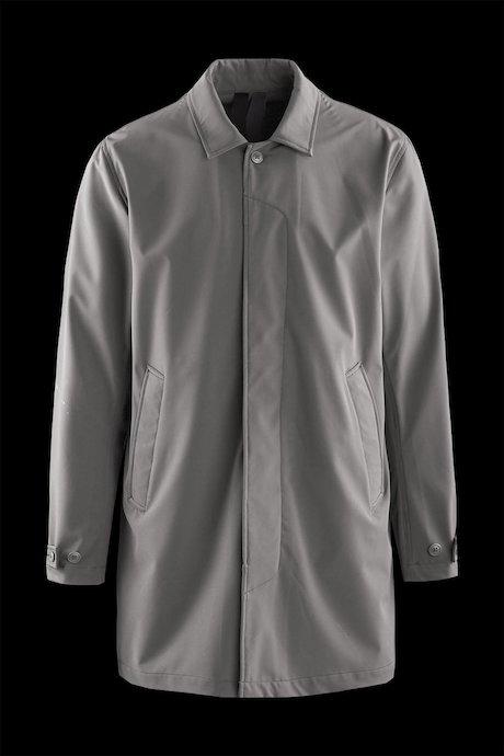 Unlined softshell coat