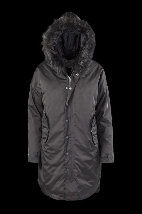 Parka Detachable Lining Faux Fur Inserts