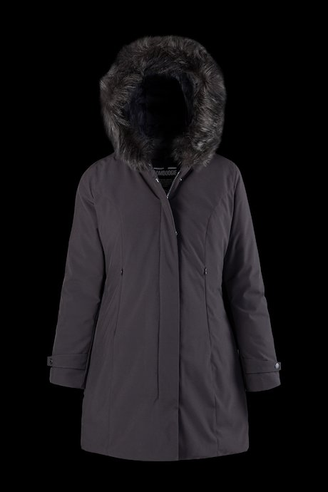 Softshell Parka Faux Fur Inserts