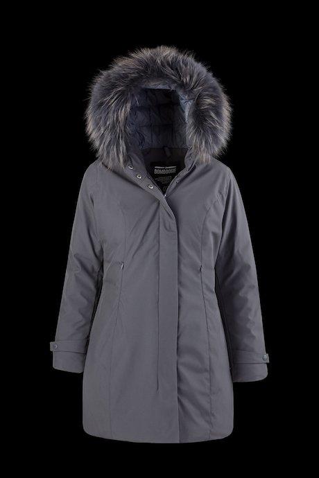 Softshell Parka Coloured Fur