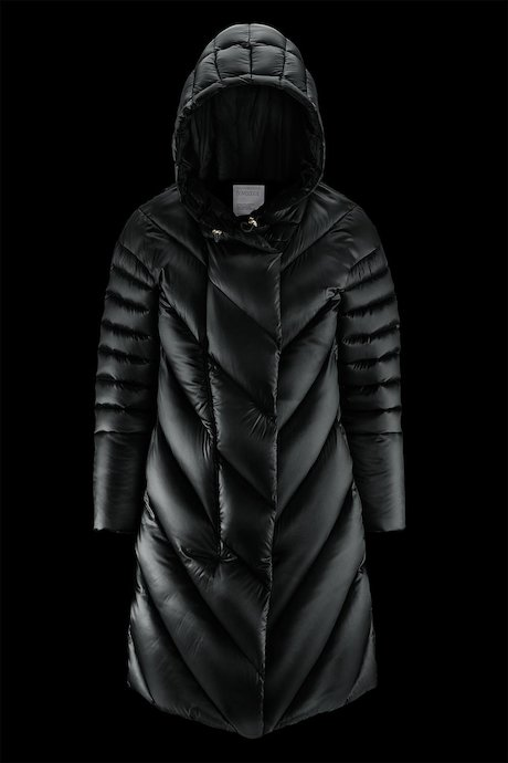 Oversized Down Jacket Hood