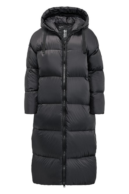 Anvers Long Down Jacket in recycled nylon