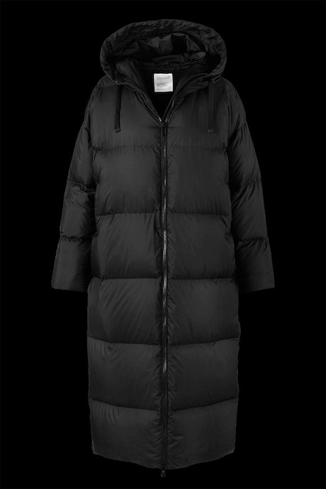 Oversized Down Jacket with Hood