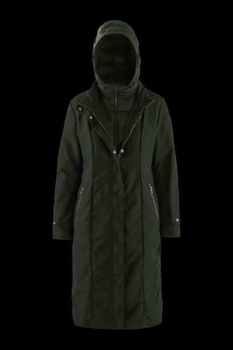Giubbini donna e giacche Donna Piumino Lungo Interno Staccabile ... fa5775025d5