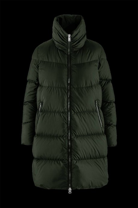 Oversized Down Jacket High Collar