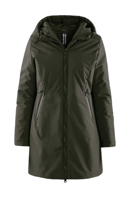 Long jacket water resistant Thermore® EVOdown® padding