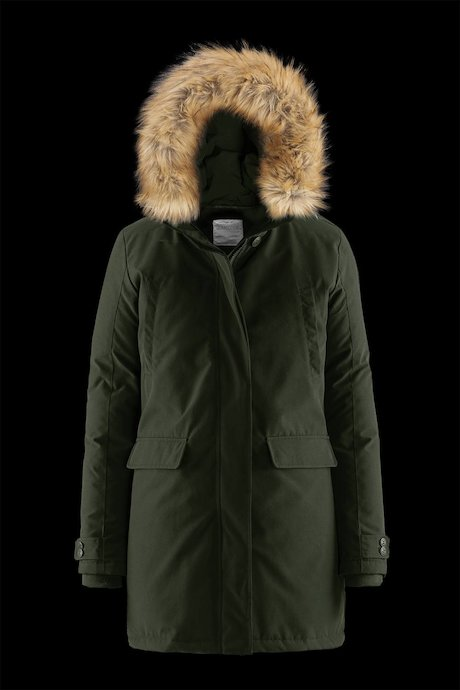 Parka Pockets and Faux Fur Inserts