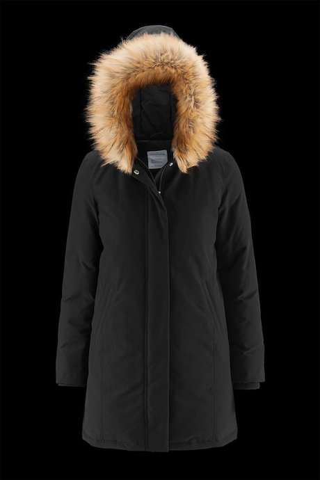 Padded Parka Faux Fur Inserts