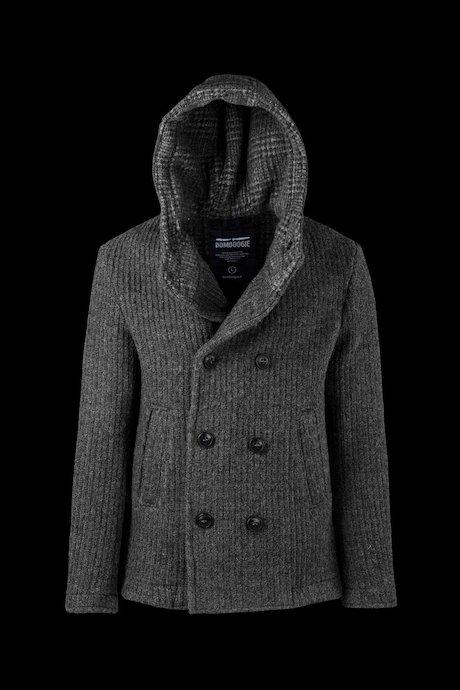 Wollmischung Mantel mit Knöpfen