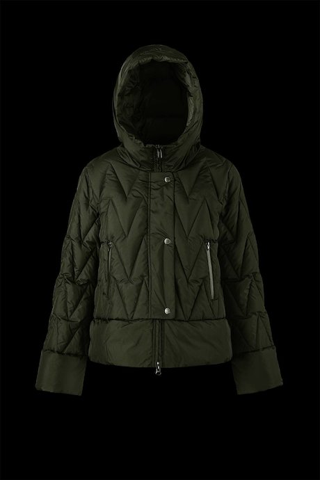 Short Flared Down Jacket
