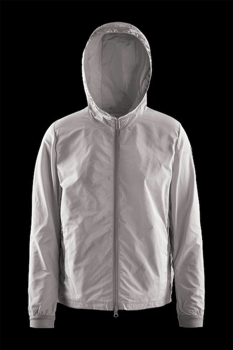Bi material jacket opening sides