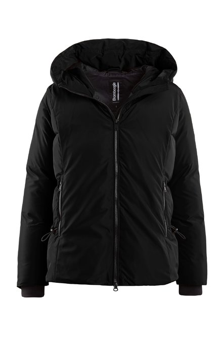 Recycled material down jacket