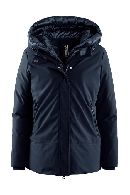 Down padded jacket A line