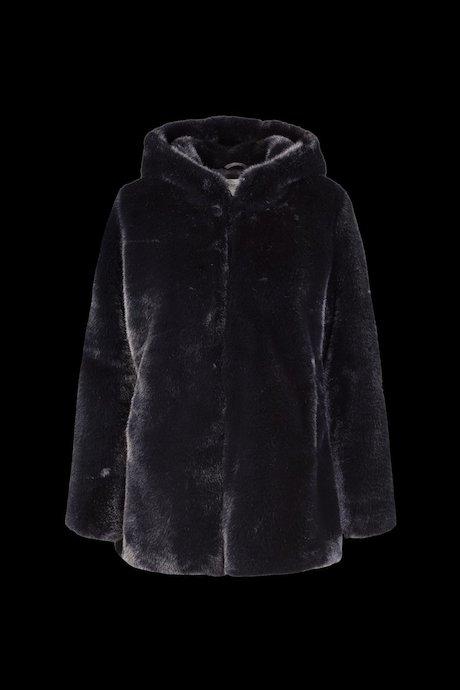 Faux Fur Coat Fash