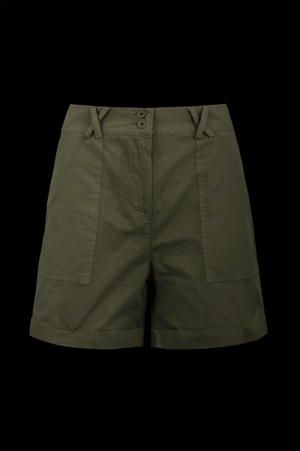 Fatigue shorts with pockets