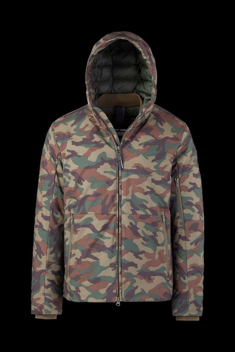 Camo Softshell Padded Jacket