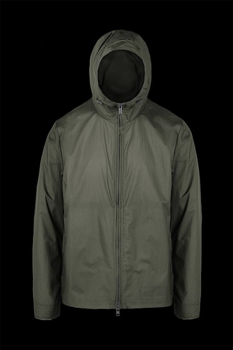 Windbreaker jacket in nylon micro ripstop