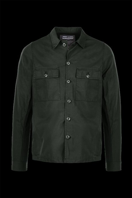 Shirt-jacket with pockets