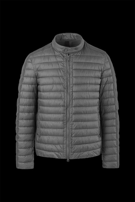 Bi-material lightweight jacket