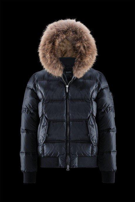 Padded Bomber Fur Hood