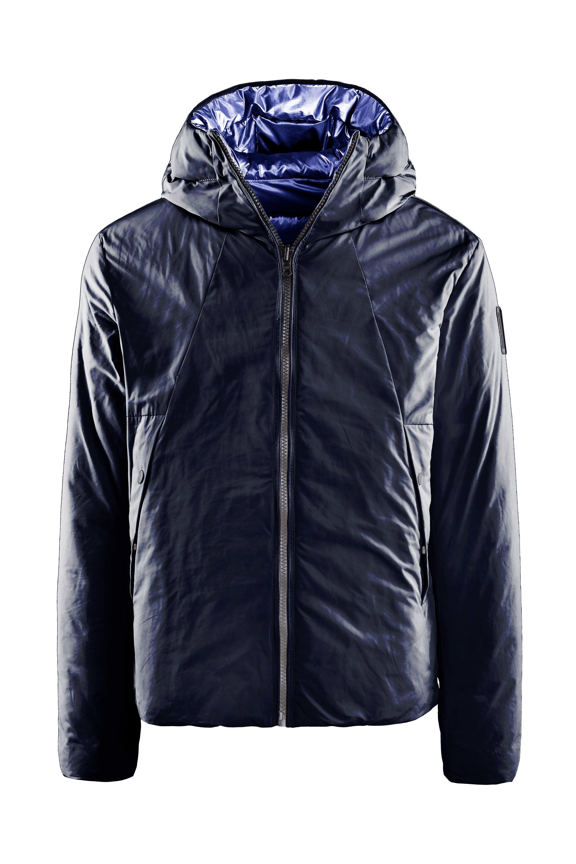 Reversible down jacket PrimaLoft® PowerplumeTM padding
