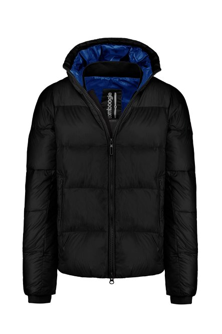 Down jacket in nylon ripstop