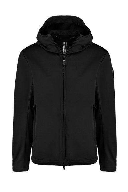 Neoprene unlined jacket with hood