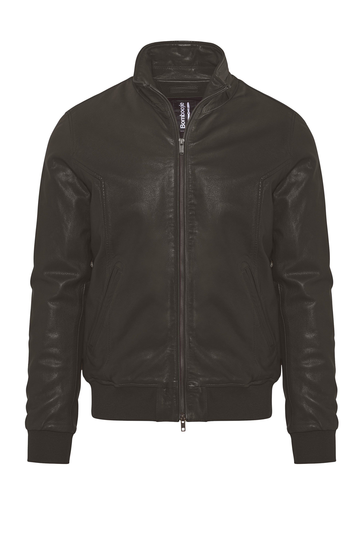 Chel leather bomber jacket