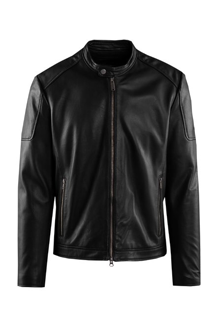 Clan leather jacket