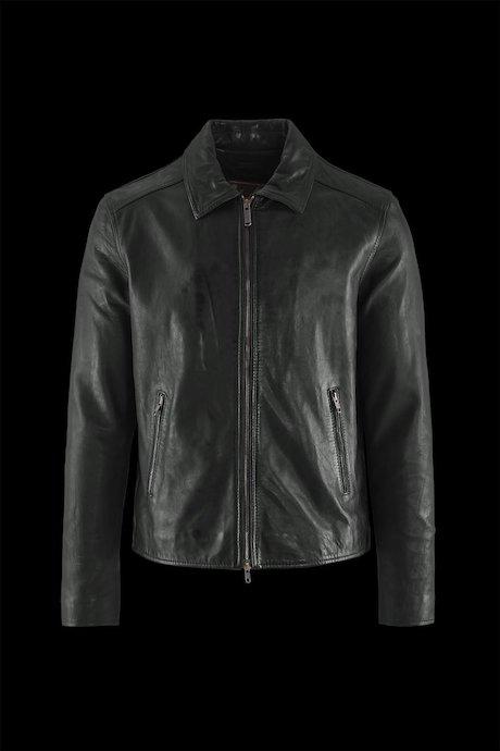 Man's leather jacket Jhim