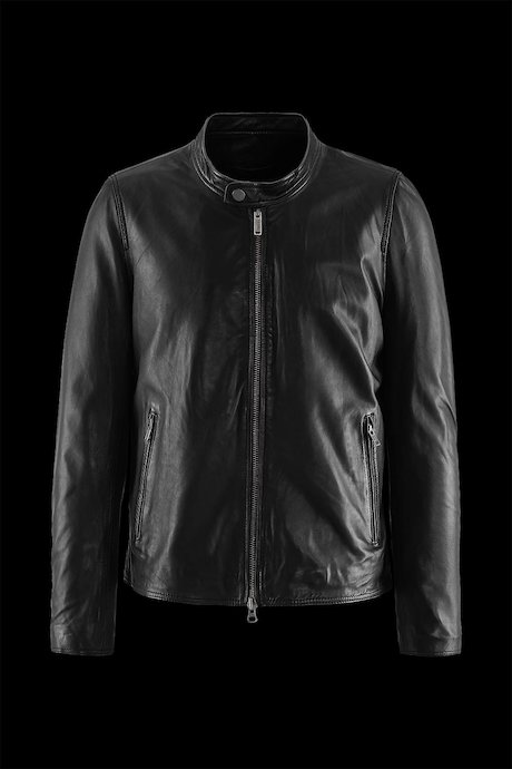 new product fb1bf f37f3 Suzuka leather Jacket