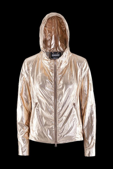 Damen Blouson Metallic