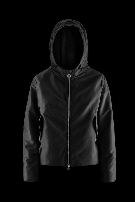 Woman's jacket with hood