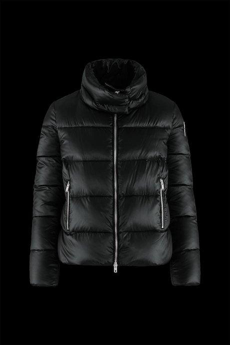 Short Down Jacket Wide Collar