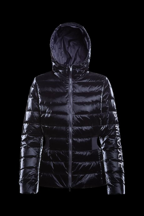 Polished short down jacket