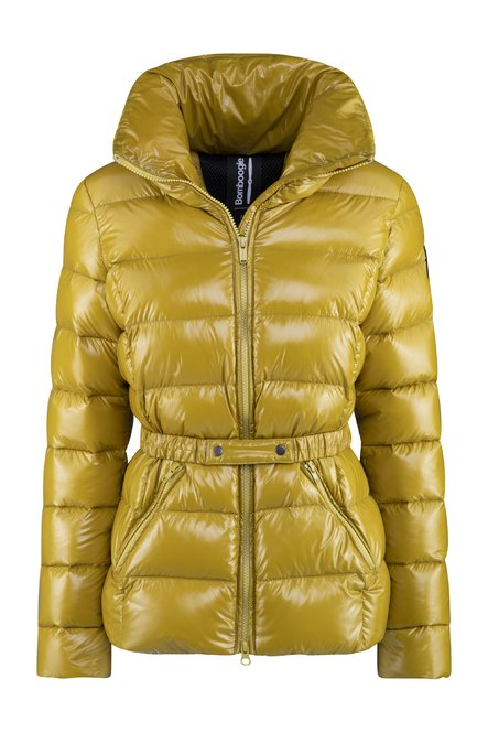 Real down jacket in nylon micro ripstop