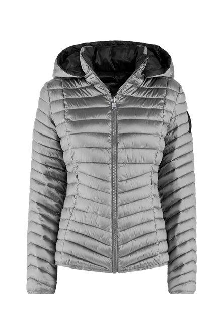 Woman's down jacket Reversibile