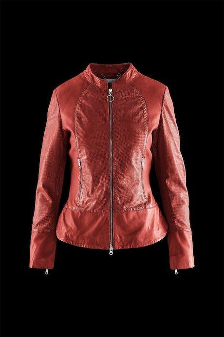 Woman's leather jacke Maja