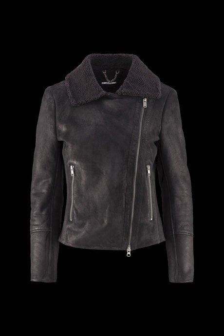 Woman's leather jacket Mazi
