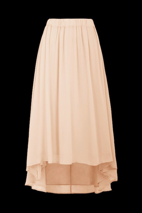 Asymmetric long skirt