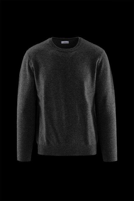 Round Collar Sweater Wool